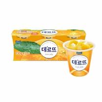 매일 데르뜨 젤리 (오렌지)(130G*3입)
