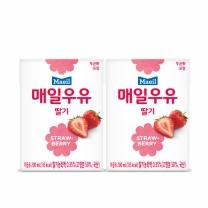 매일 멸균 딸기우유(200ML*4입)