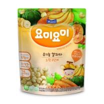 매일 요미요미쌀과자 노랑 2단계(25G)