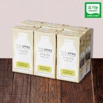 상하목장 유기농 멸균 우유(200ML*6입)