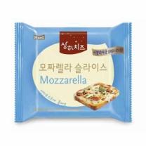■ 상하 모짜렐라 슬라이스 치즈(180G)