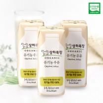 상하목장 유기농 멸균 우유(125ML*3입)