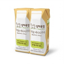 매일 상하 유기농 멸균 바나나우유(125ml*24)