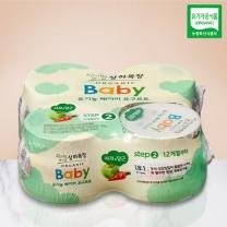 상하 유기농 베이비 (사과당근)(85G*4입)