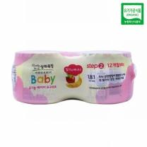 상하 유기농 베이비 (딸기바나나)(85G*4입)