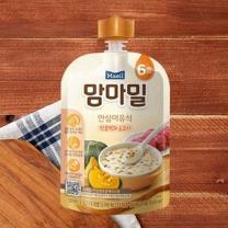 맘마밀 단호박과 소고기(100G)