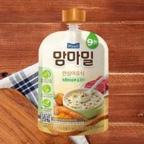 맘마밀 녹황채소와 소고기(100G)