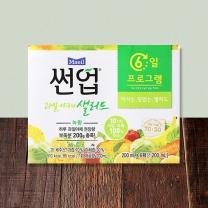 썬업 과일야채 샐러드 (녹황)(200ML*6입)