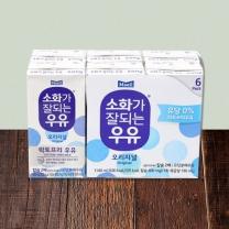 ■ 매일 소화가잘되는 멸균 우유(190ML*6입)