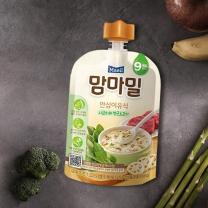 맘마밀 시금치와 연근소고기(100G)