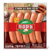 ㉣ 롯데 의성마늘프랑크(350G)