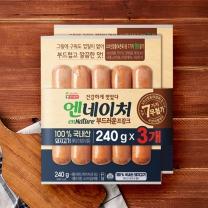 ㉣ 롯데 엔네이쳐후랑크 특별기획(260G*3)