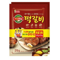 롯데 남도별미 떡갈비기획(540G)