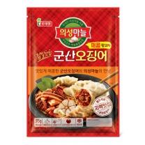 롯데푸드 군산오징어 매콤왕교자(630G)