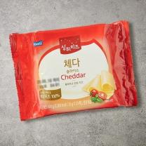 ■ 상하 체다 슬라이스 치즈(400G)