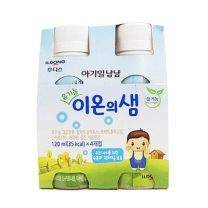 아기밀 유기농 이온의샘(120ML*4입)