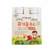 아기밀 유기농 사과배주스(120ML*4입)