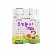 아기밀 유기농 종합과일주스(120ML*4입)