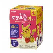 포켓몬 딸기바나나우유(180ML*4입)