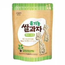 후디스 유기농 쌀과자 (백미,파래)(30G)
