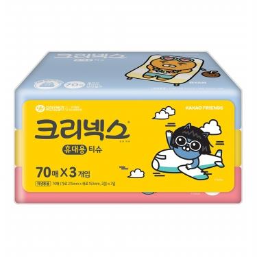 Ⓢ 카카오프렌즈 여행용 티슈(70매*3입)