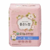 좋은느낌 유기농순면 슬림날개 (대형)(32입)