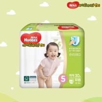 하기스 네이처메이드 팬티형(특대형, 여아)(30개)