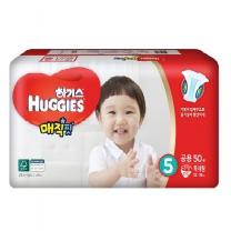 하기스 매직핏기저귀(특대형, 공용)(50개)