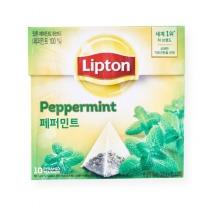 립톤 페퍼민트 허브티(0.8G*10입)