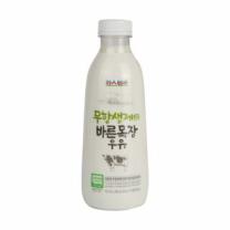 파스퇴르 무항생제 우유(750ML)