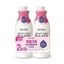 파스퇴르 LB 9 유산균 우유 기획(750ML*2입)