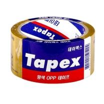 테이팩스 OPP 테이프 (황색)(1입)
