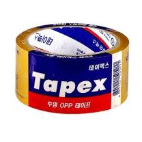 테이팩스 OPP 테이프 (투명)(1입)