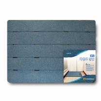 롯데 웰빙 다용도발판 (블루,대)(85*60*3.5CM)