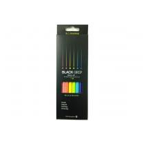 블랙 그립 연필(6입)
