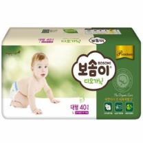 보솜이 디오가닉 기저귀 (대형)(40개)
