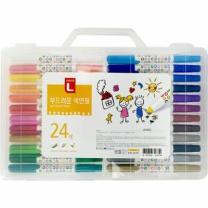초이스엘 부드러운 색연필 (24색)