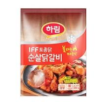 토종닭 순살 닭갈비(매운맛)(250G)