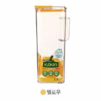 코멕스 청정 물병 (노랑)(2.3L)