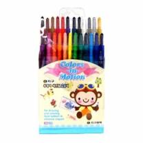 지구 샤프식 색연필 (24색)