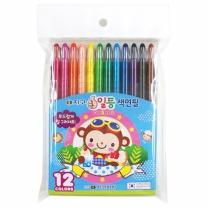 지구 일등 색연필 (12색)(2입)