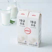 Only Price 1등급 우유(1L*2입)