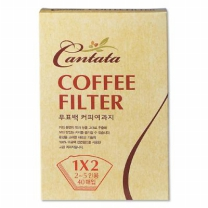 칸타타 커피필터(40매)
