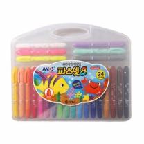 파스넷 색연필 (24색,굵은심)