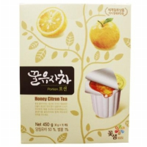 꽃샘 꿀유자차 (포션)(30G*15입)