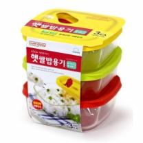 락앤락 햇쌀밥 용기 기획(320ML*3입)