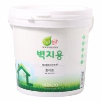 노루 순앤수 항균페인트 (백색,벽지용)(2L)