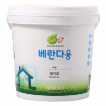 노루 순앤수 항균페인트 (백색,베란다용)(2L)