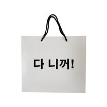 종이 쇼핑백 대 (다니꺼)
