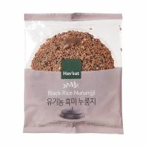 해빗 유기농 흑미누룽지(150G)